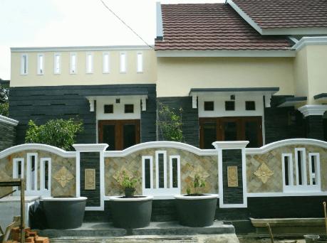 Pagar Tembok Rumah Minimalis Type 36 Bagus Harga Batako